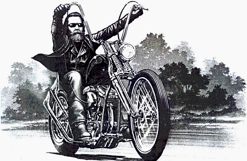 dudeworld david mann biker artist and legend
